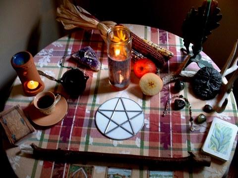 Mabon_altar